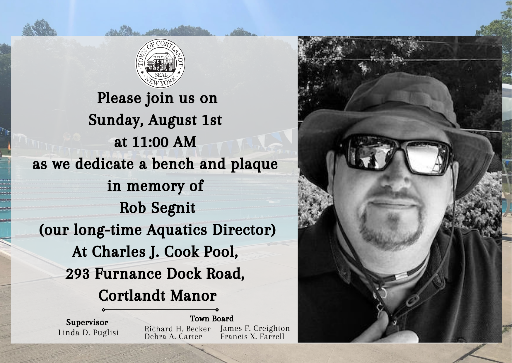 Rob Segnit Bench & Plaque Dedication.png