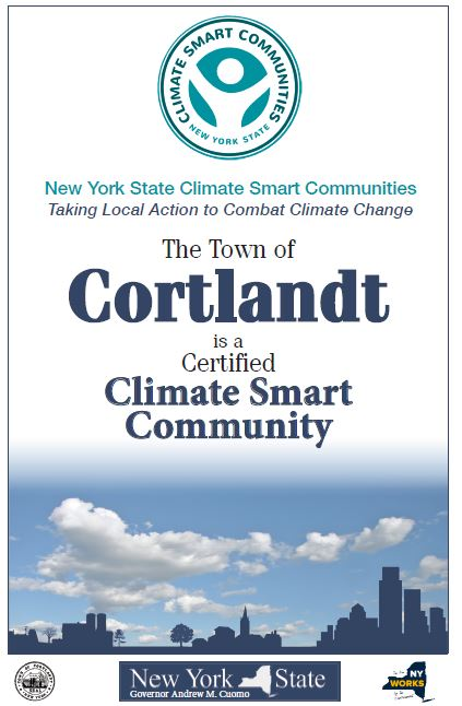 Cortlandt is Certified Climate Smart Community