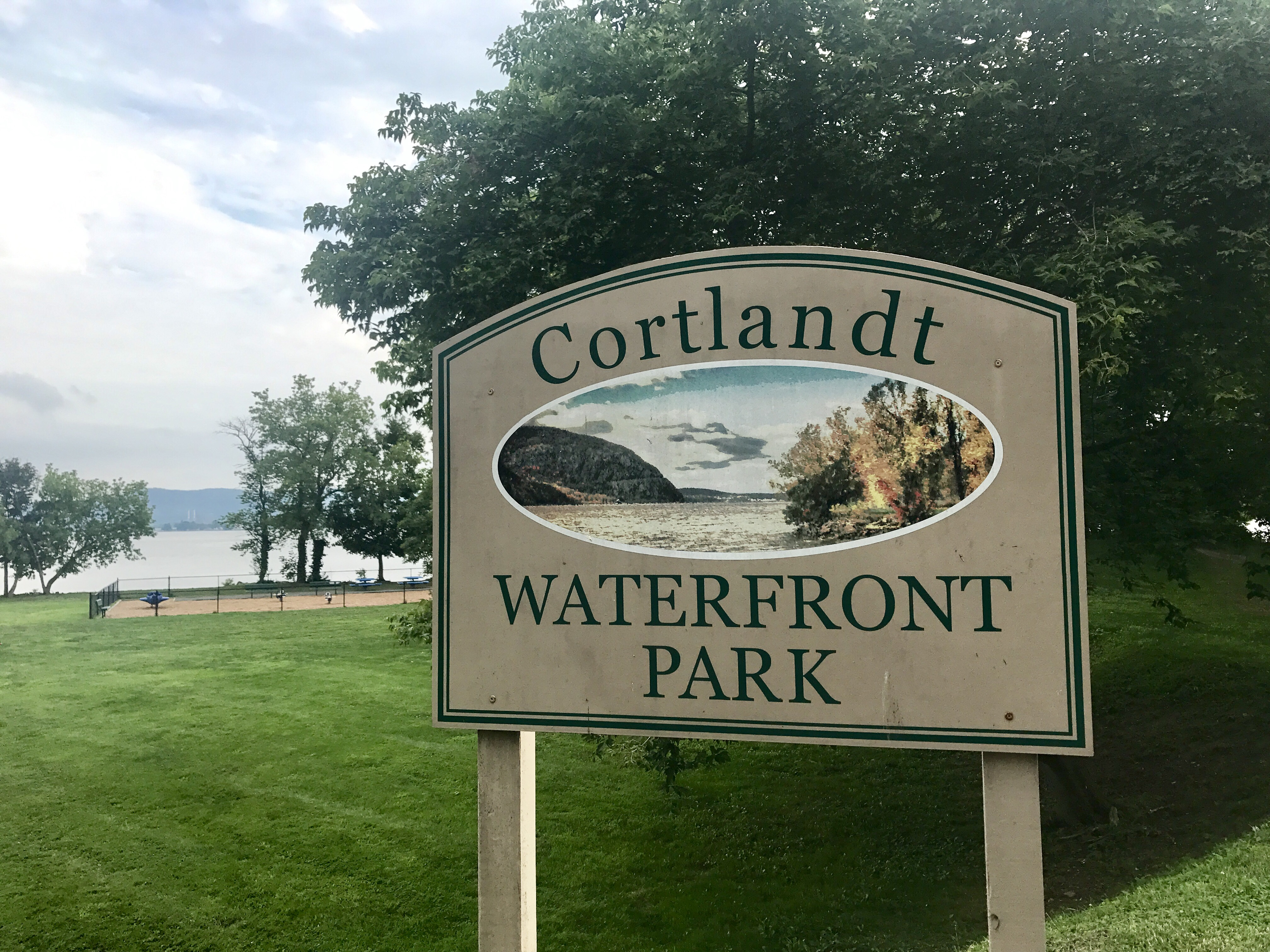 Cortlandt Waterfront Park Sign